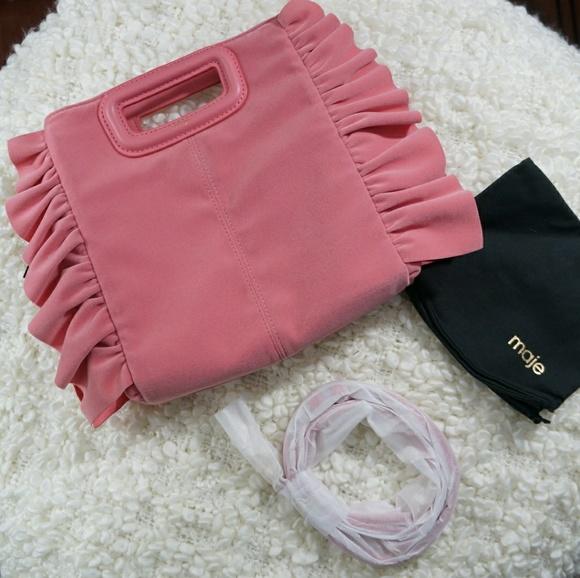 Maje Handbags - NWT Maje Mruffle Frilled M Bag